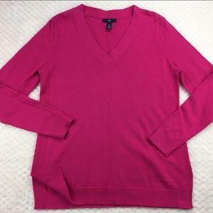 Gap Bright Pink Cotton Sweater